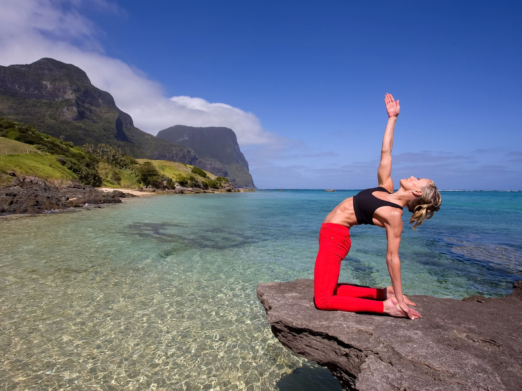 Wellness Week with Charlotte Dodson at Pinetrees Lord Howe Island - New South Wales Tourism