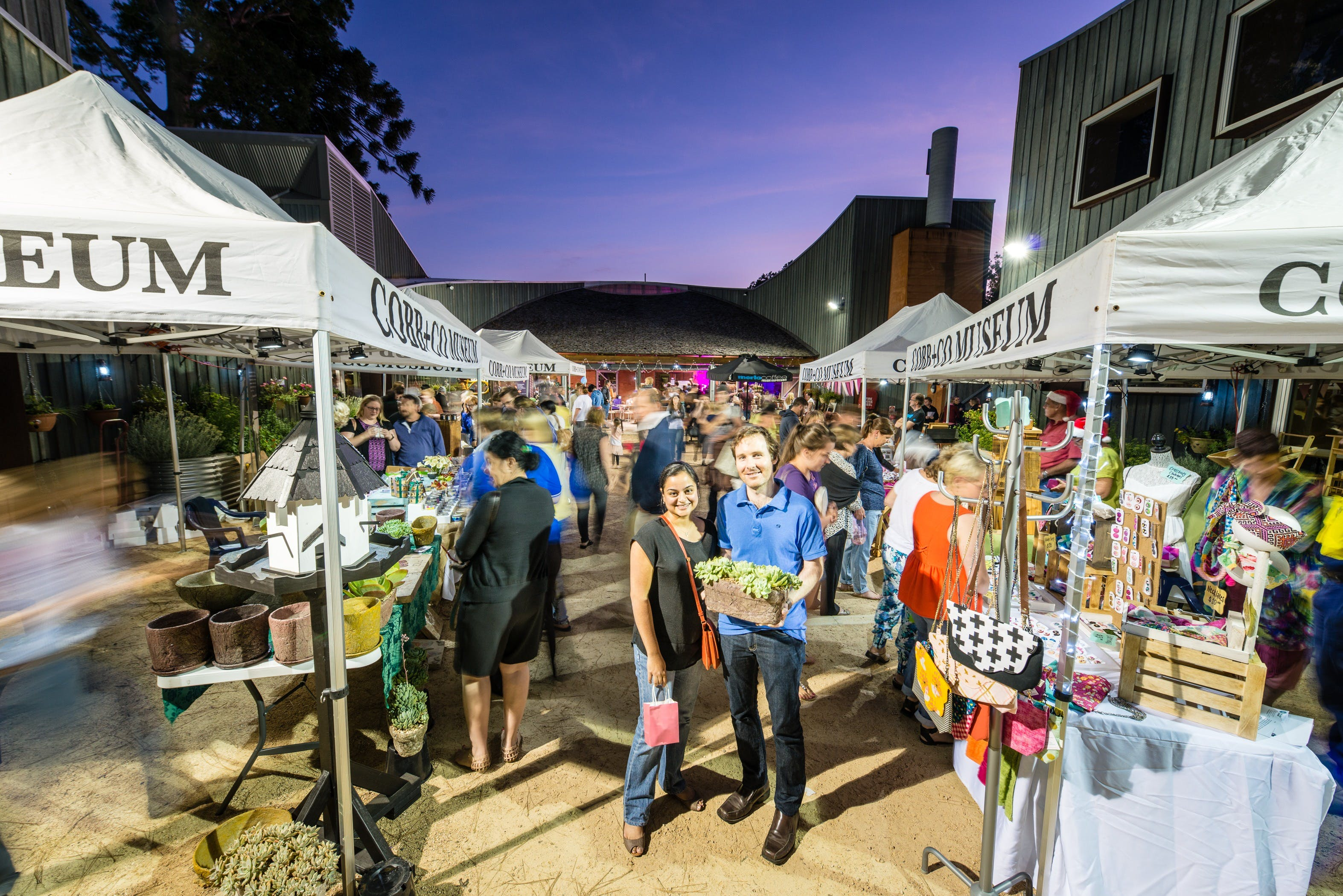 Hand Made Under the Stars - Twilight Market - New South Wales Tourism