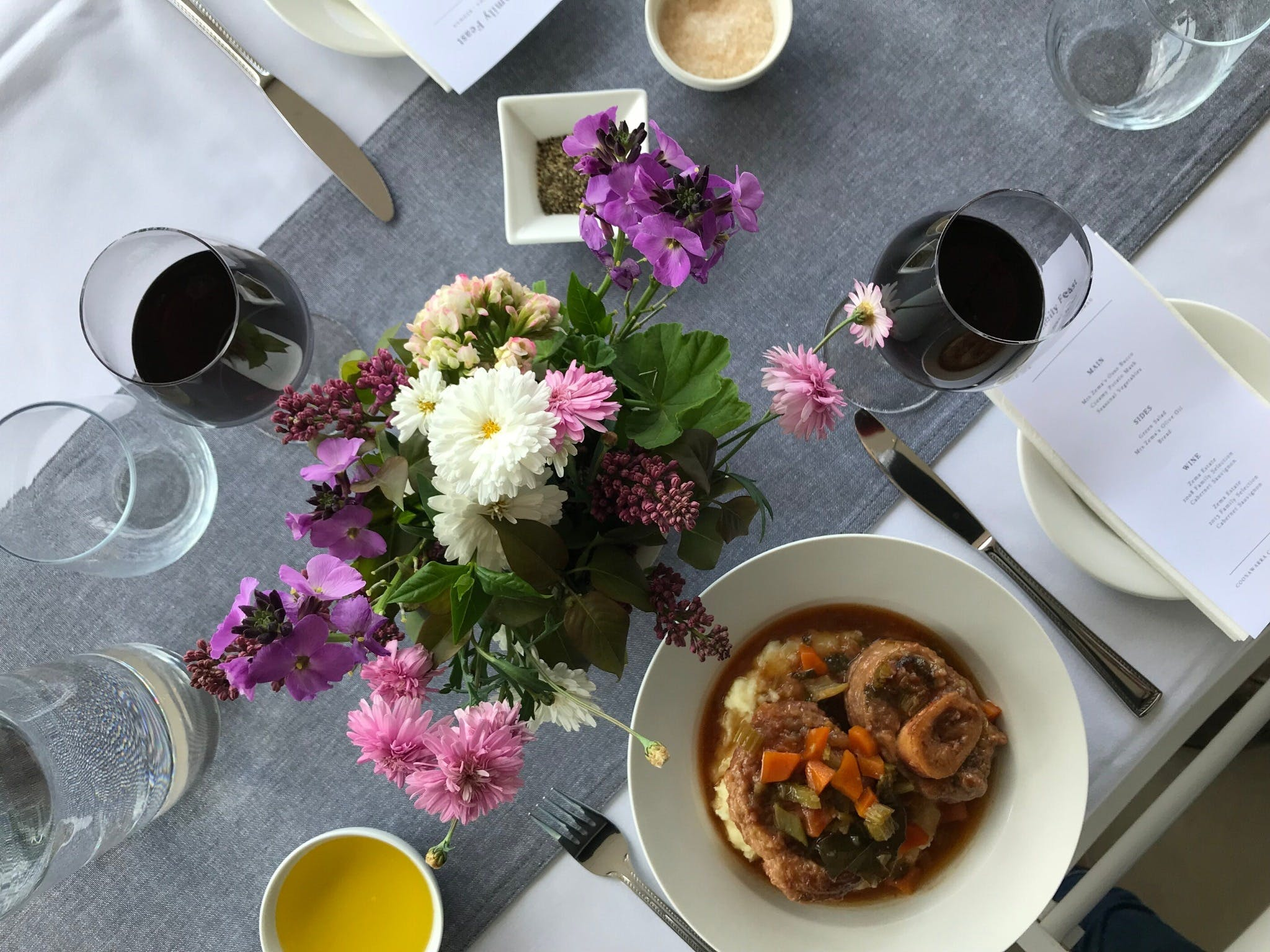 The Family Feast  Three Coonawarra families three tables three courses. - New South Wales Tourism