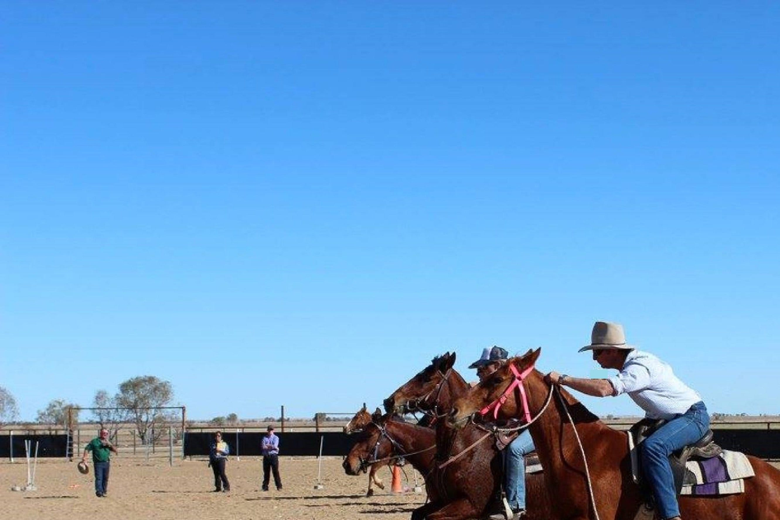 Birdsville Horse and Motorbike Gymkhana - New South Wales Tourism