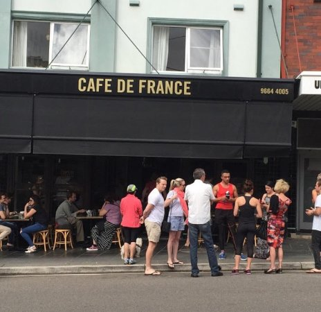 Cafe de France - New South Wales Tourism