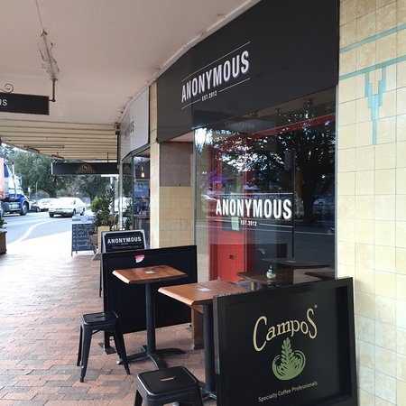 Anonymous Cafe - New South Wales Tourism