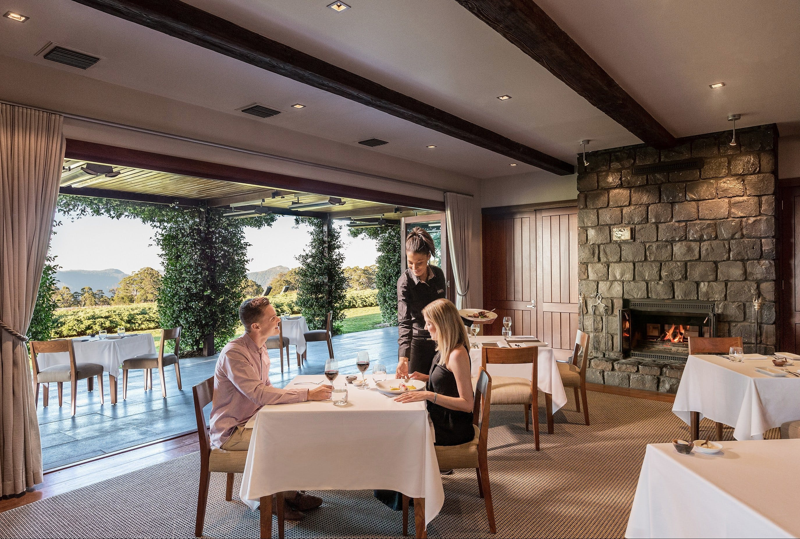 The Peak Restaurant at Spicers Peak Lodge - New South Wales Tourism