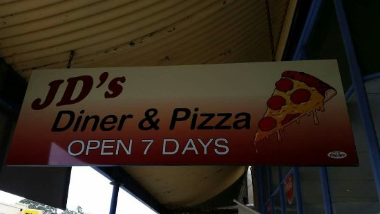 JD's Diner  Pizza - New South Wales Tourism