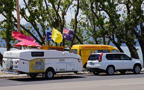 Jessies Cardwell Pies mobile Van - New South Wales Tourism