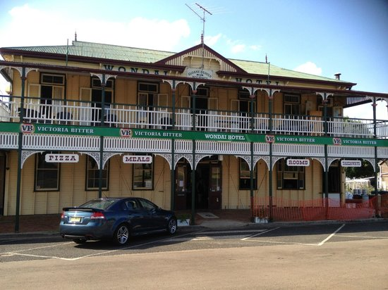 The Wondai Hotel  Cellar - New South Wales Tourism