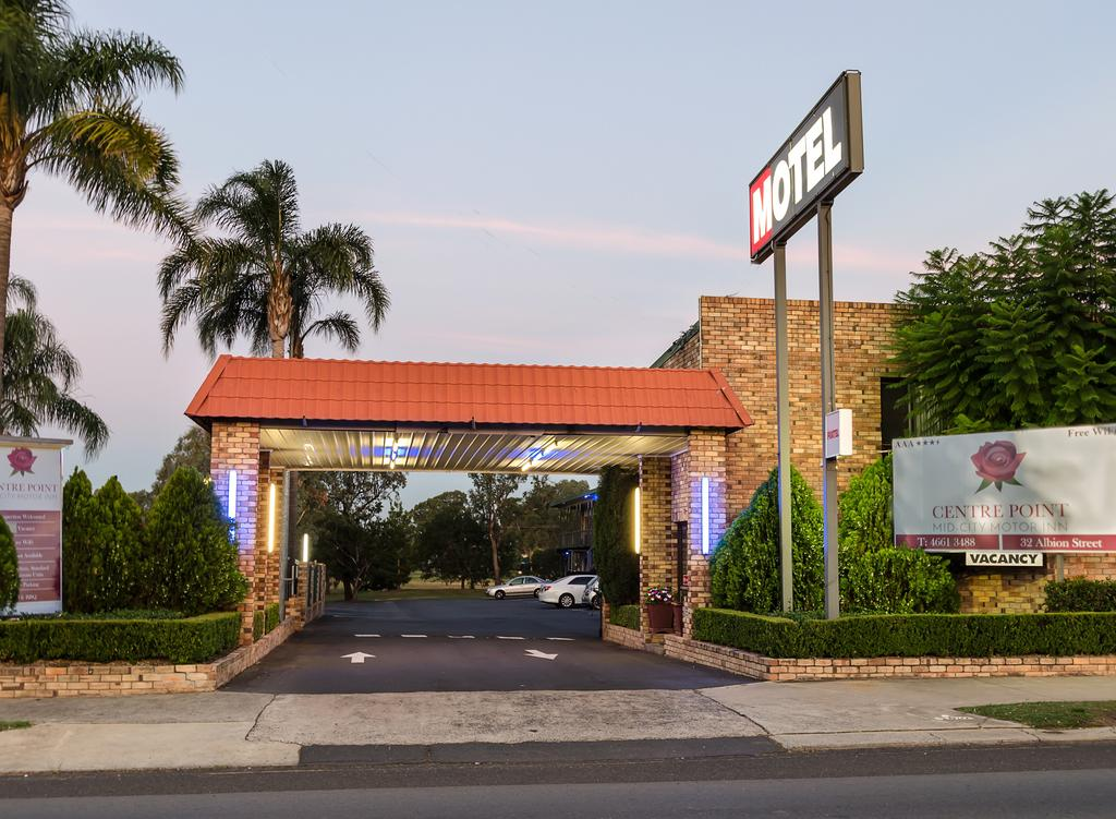 Centrepoint Midcity Motor Inn - New South Wales Tourism