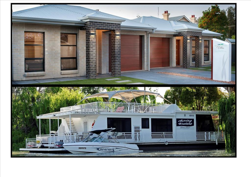 Renmark River Villas and Boats  Bedzzz - New South Wales Tourism